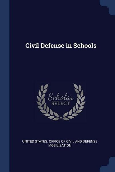 Civil Defense in Schools