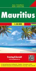 Mauritius - Rodrigues, Autokarte 1:50.000