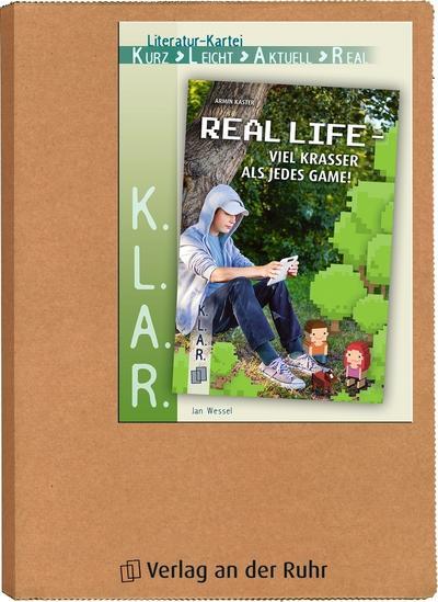 """Literatur-Kartei """"Real Life - viel krasser als jedes Game!"""""""