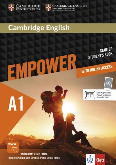 Cambridge English Empower A1: Student's Book + assessment package, personalised practice, online workbook & online teacher support