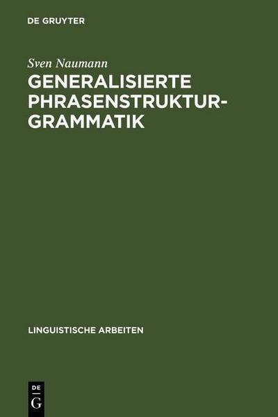 Generalisierte Phrasenstrukturgrammatik