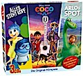 Disney/Pixar 3 CD-Box : Arlo & Spot,  Alles steht Kopf, Coco