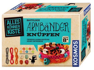 Kosmos 604158 - AllesKönnerKiste, Armbänder knüpfen - Kosmos - Spielzeug, Deutsch, , Trendige Schmuckstücke selbst entwerfen, Trendige Schmuckstücke selbst entwerfen