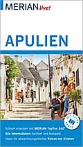 MERIAN live! Reiseführer Apulien; Mit Extra-Karte zum Herausnehmen; MERIAN live; Deutsch