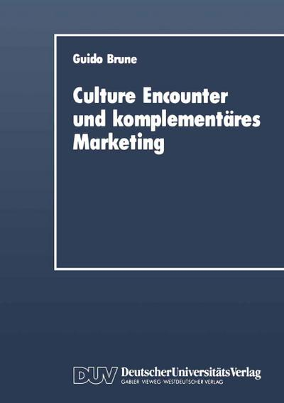 Culture Encounter and komplementäres Marketing