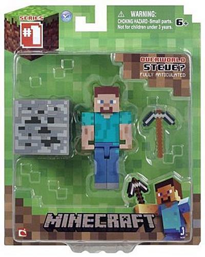 Minecraft 16501 - Core Spieler Steve, bewegliche Figur mit Zubehör - Minecraft - Spielzeug, Deutsch, , ,
