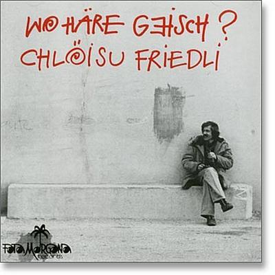 Wohäre geisch?, 1 Audio-CD