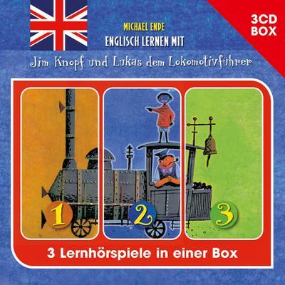 Englisch lernen mit Jim Knopf - 3-CD Hörspielbox