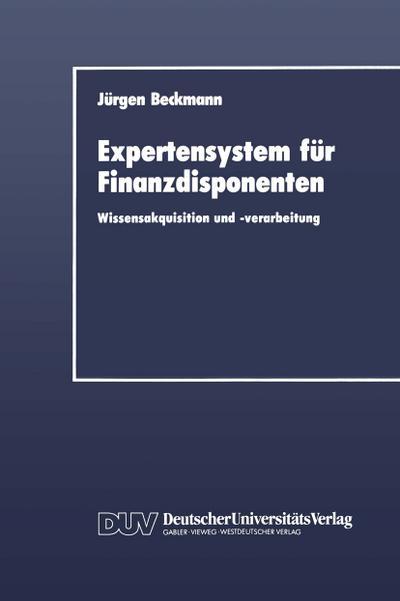 Expertensystem für Finanzdisponenten