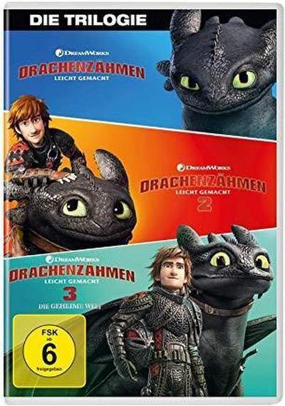 Drachenzähmen leicht gemacht 1 - 3 Movie Collection