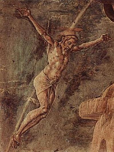 Cosmè Tura - Gekreuzigter Christus - 100 Teile (Puzzle)