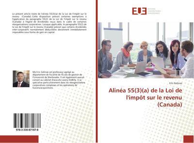 Alinéa 55(3)(a) de la Loi de l'impôt sur le revenu (Canada)