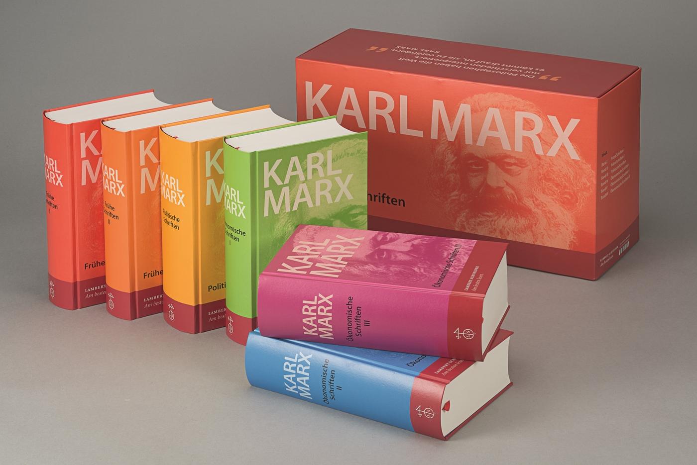 Werke, Schriften. 6 Bände Karl Marx