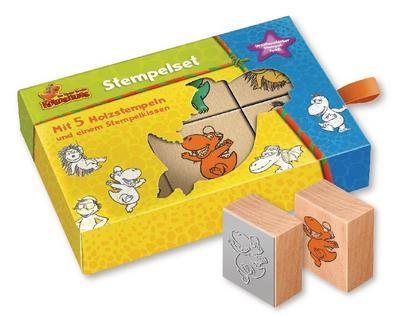 Der kleine Drache Kokosnuss - Stempel Set