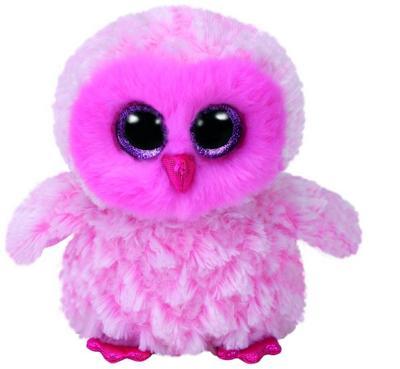 Twiggy, Eule pink/weiß 15cm