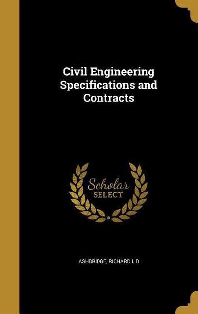 CIVIL ENGINEERING SPECIFICATIO