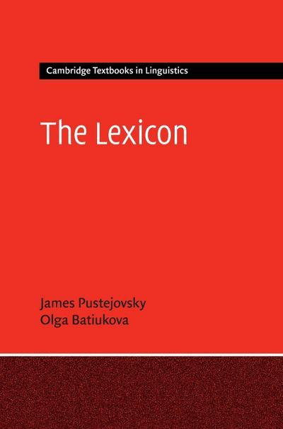 The Lexicon (Cambridge Textbooks in Linguistics)