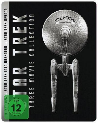 Star Trek - J.J. Abrams Trilogy. Steelbook