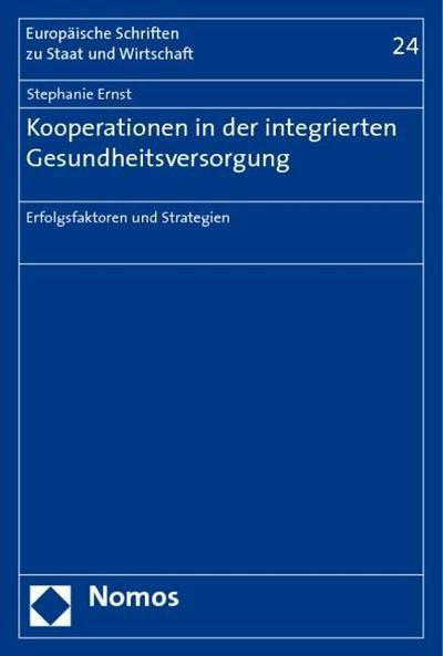 Kooperationen in der integrierten Gesundheitsversorgung