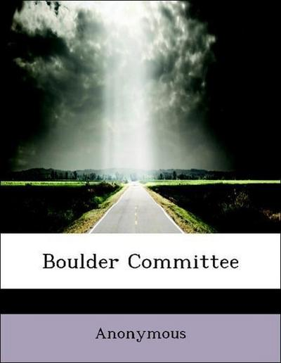 Boulder Committee