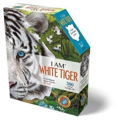 MADD CAPP Shape Puzzle Mini - weisser Tiger 300 Teile