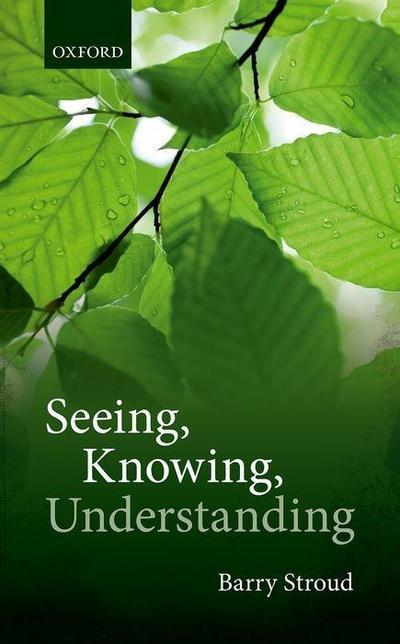 Seeing, Knowing, Understanding: Philosophical Essays